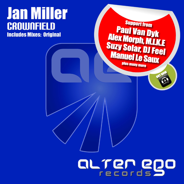 Jan Miller - Crownfield | Alter Ego Records | AE294