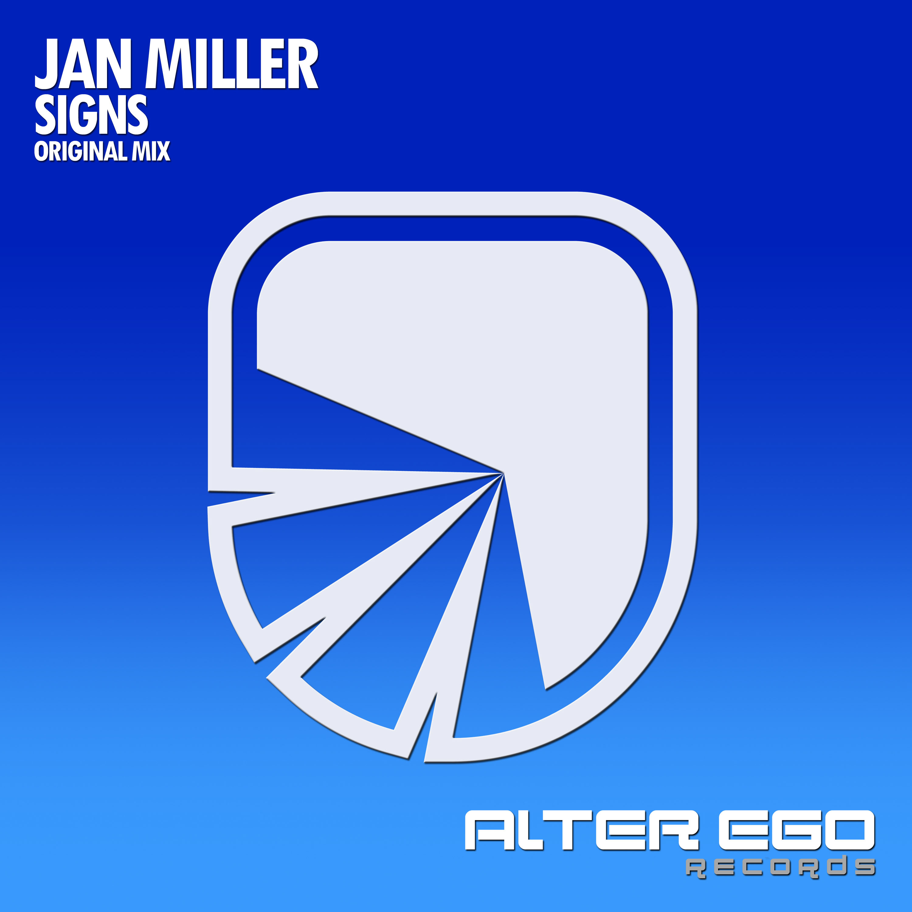 Jan Miller - Signs | Alter Ego Records | AE337