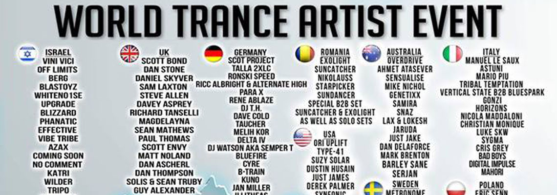 World Trance Artist Event 2018